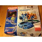 Carrera Go!!! Marvel Heroes Fantastic Four 1:43 Scale Slot Car Race System 60707   Used, original box, there is one track piece