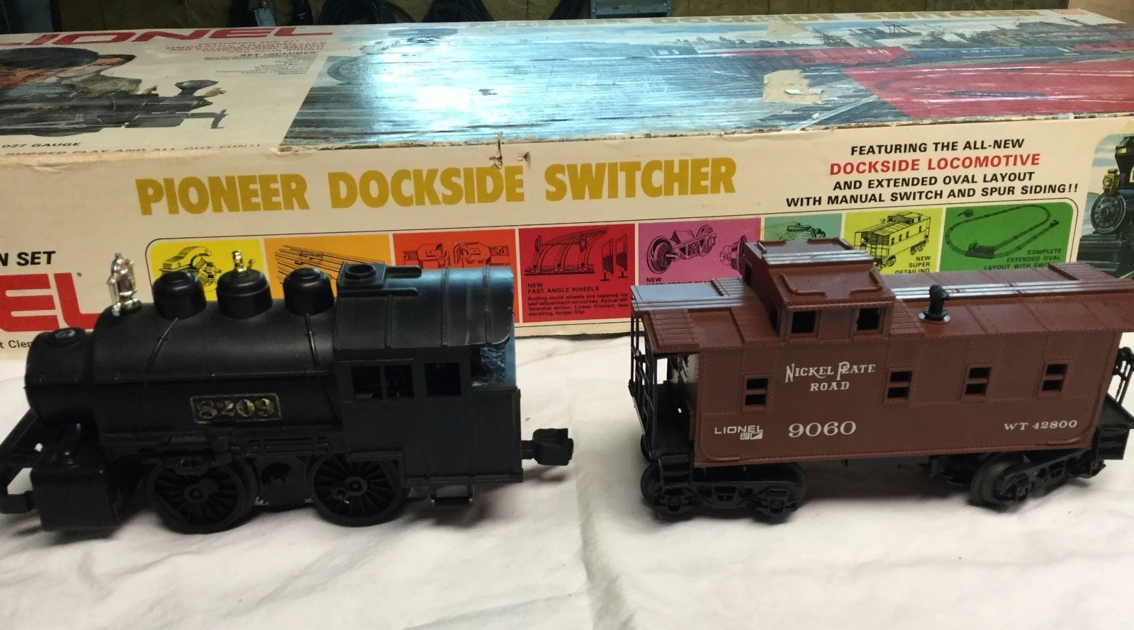 Lionel Dockside Switcher 0-27 Gauge - complete set