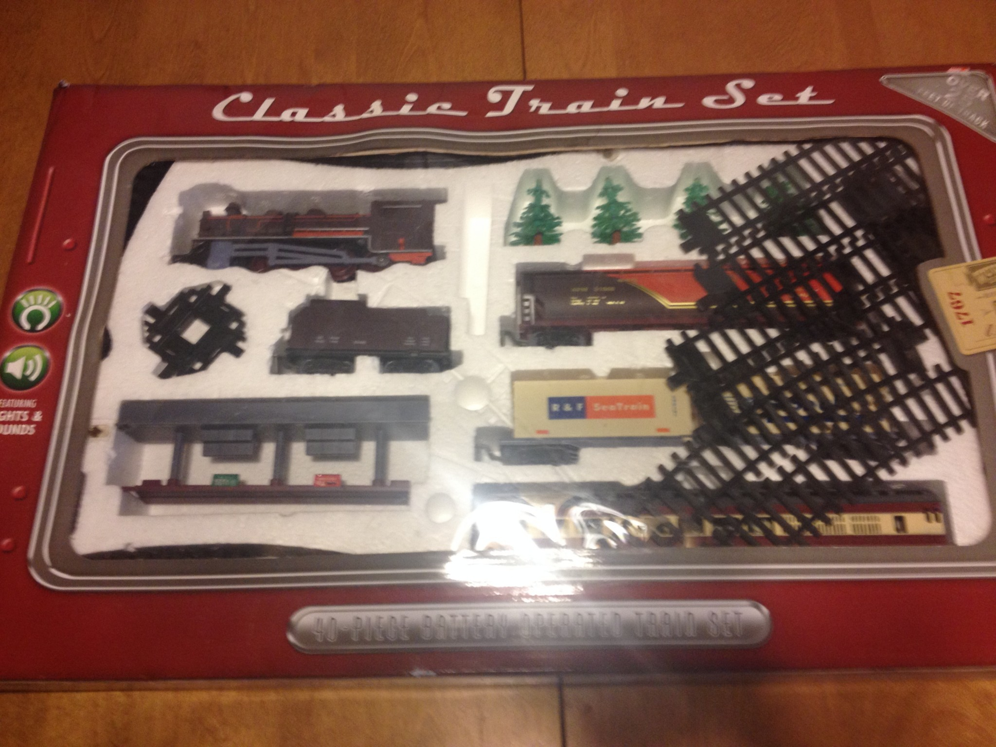 Wow Toyz Classic Train Set