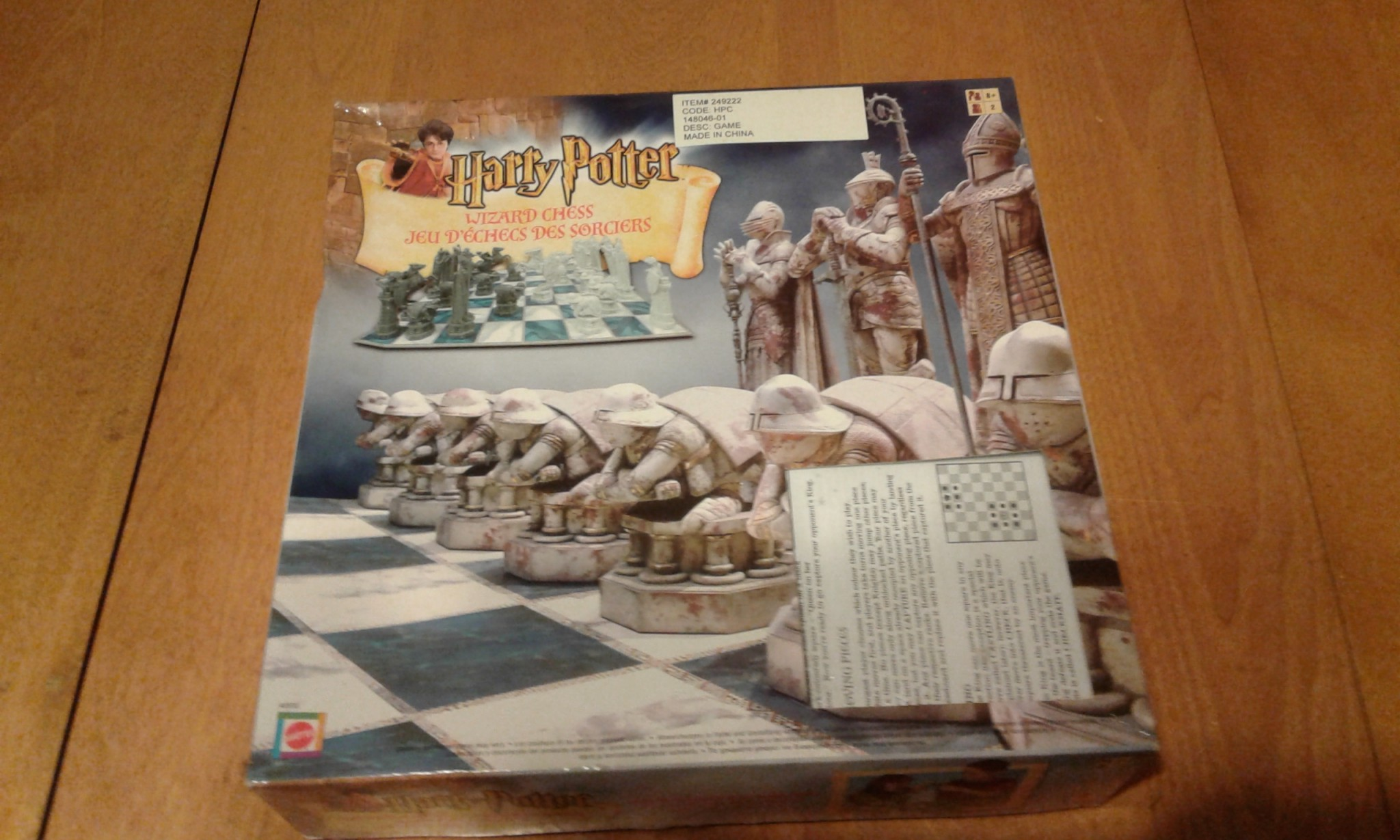 Harry Potter Wizard Chess Set By Mattel 2002