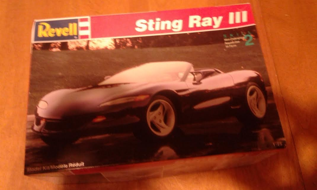 Revell Sting Ray III - Corvette model kit