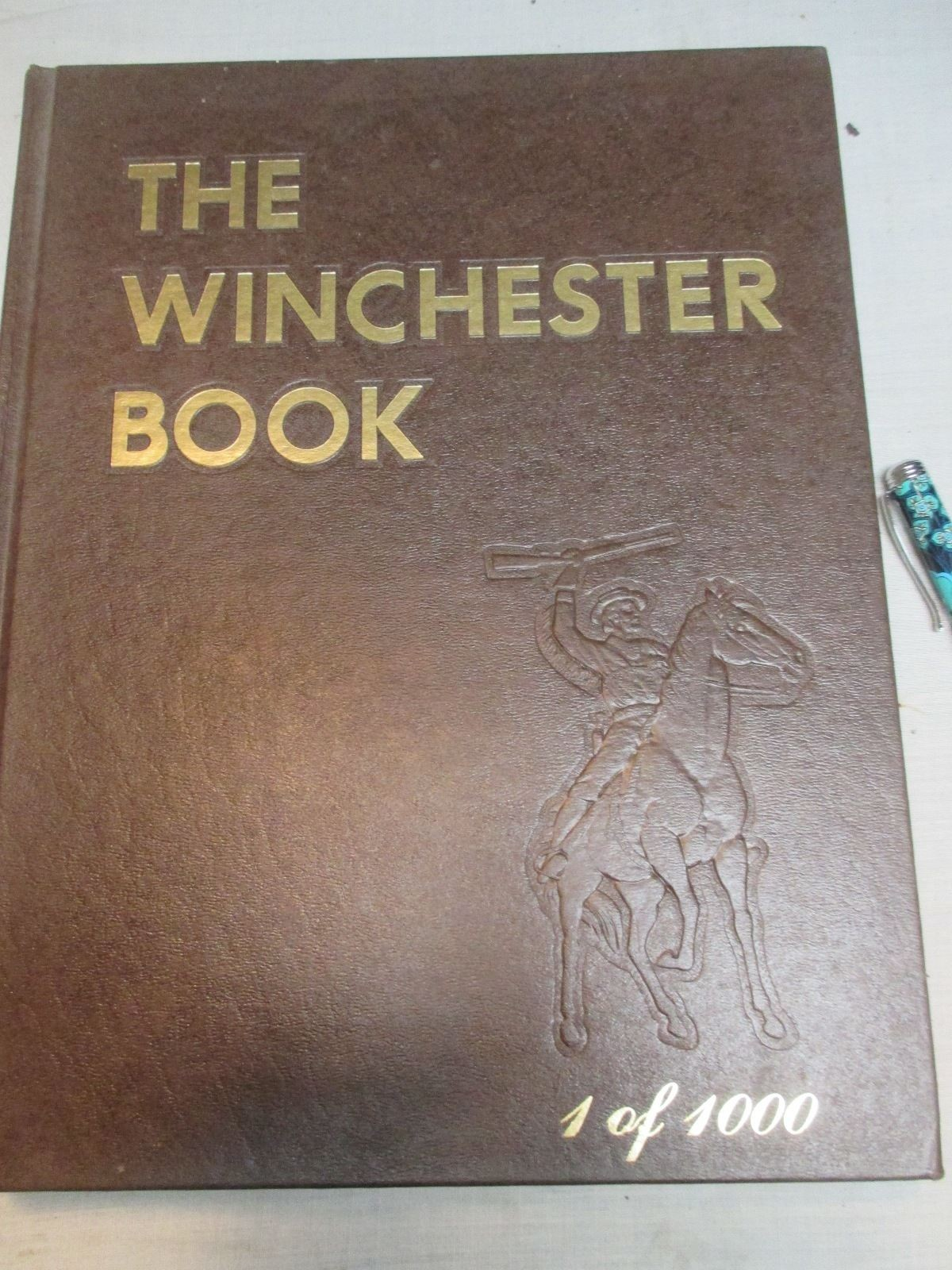 The Winchester Book ~ SIGNED FIRST EDITION - VERY RARE